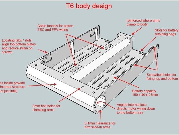 T6 / Y6 四轴飞行器