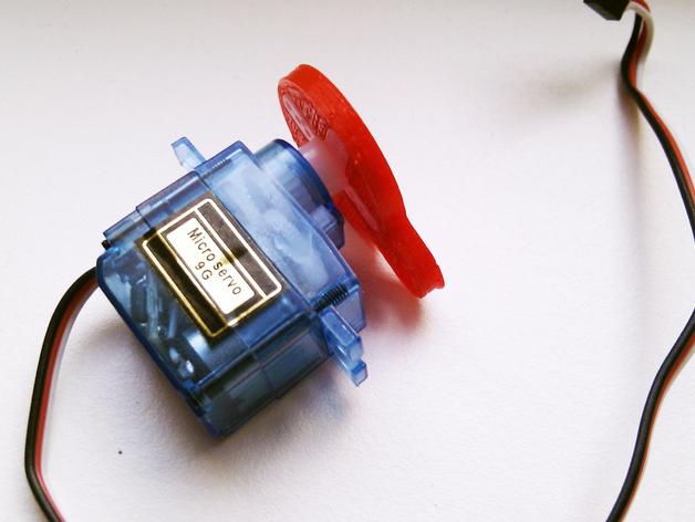 伺服套 3D打印模型渲染图