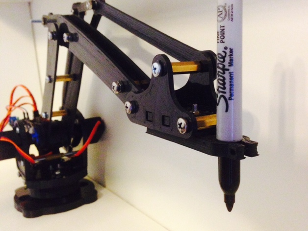 LiteArm 附件 3D打印模型渲染图