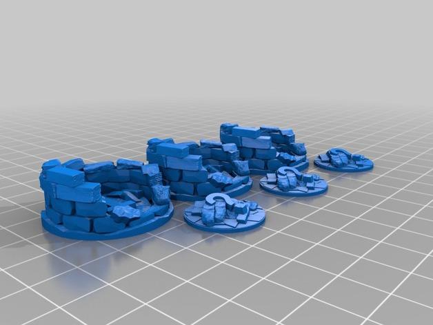 隐藏的ABC/123  3D打印模型渲染图