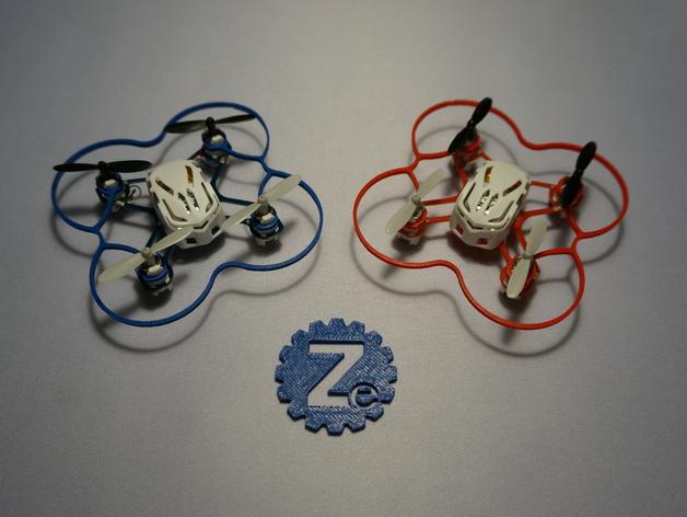 Hubsan Q4支撑架 3D打印模型渲染图