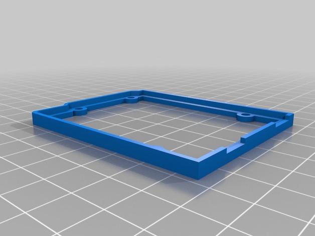 Arduino OpenSCAD固定架