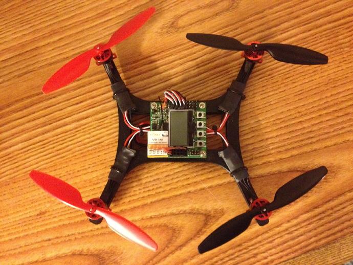微型H四轴飞行器