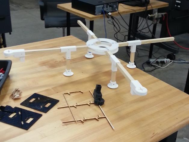 四轴飞行器组件