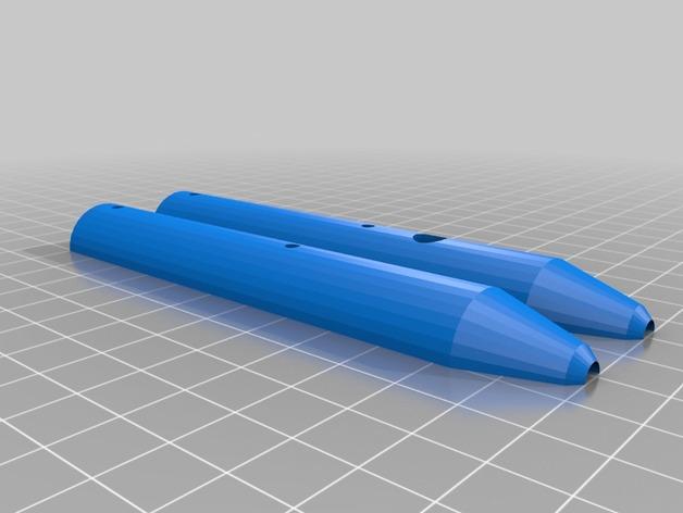 我的红外线笔 3D打印模型渲染图