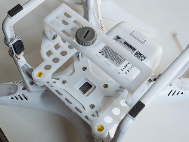 DJI Phantom 2的松下GM1照相机固定槽