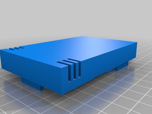 Raspberry Pi B+外壳 3D打印模型渲染图