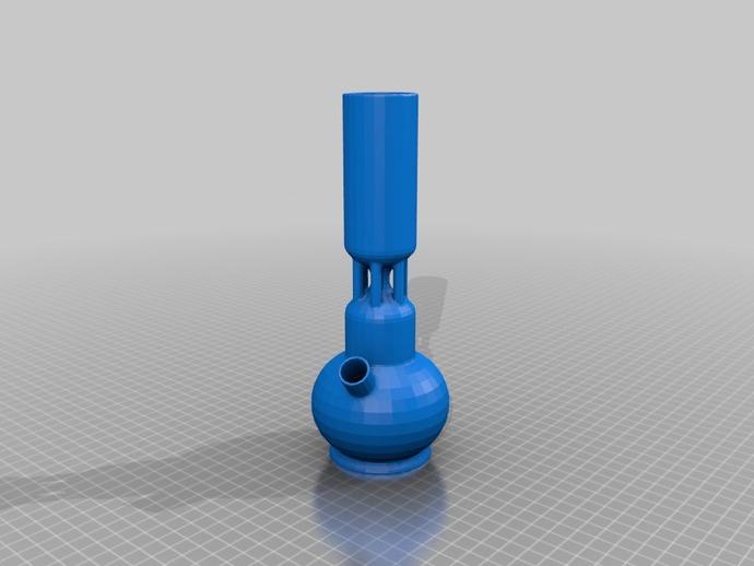 冰壶 3D打印模型渲染图
