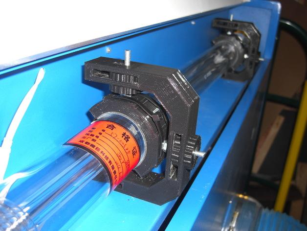 激光切割机 吊管架  3D打印模型渲染图