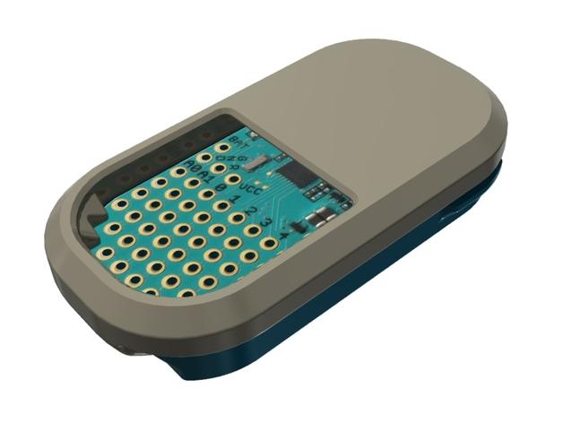蓝光电路板外壳