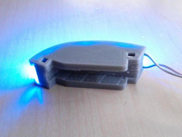 DJI F550-LED 条形安装槽