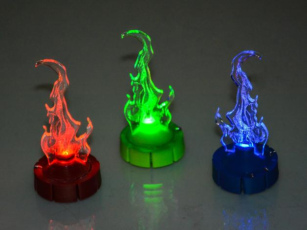 舞台灯光开关 3D打印模型渲染图
