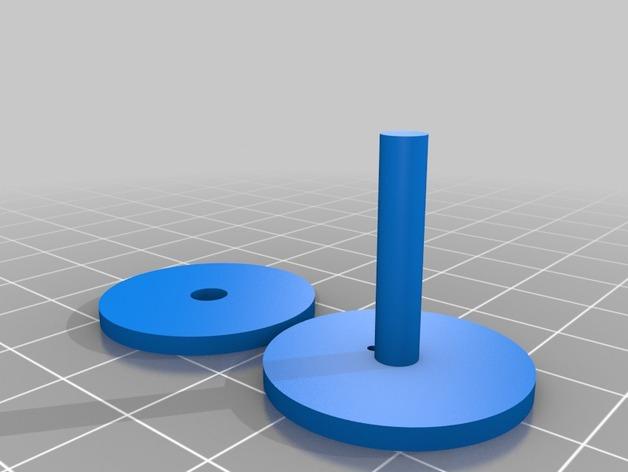 3D打印单线圈脉冲电机