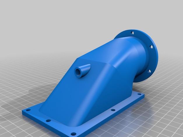 水上喷气机 3D打印模型渲染图