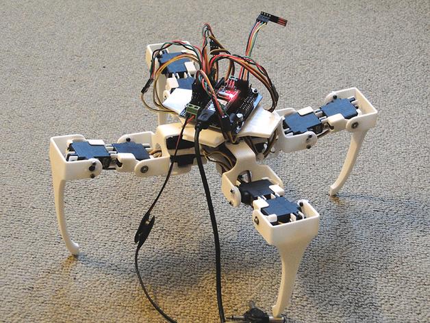 四足步行机器人
