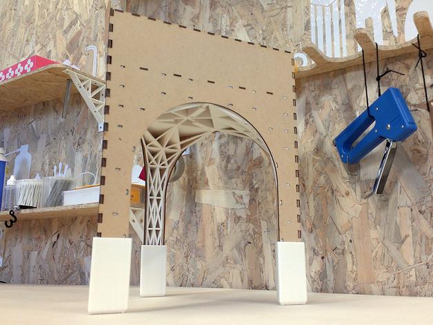 三角小凳 3D打印模型渲染图