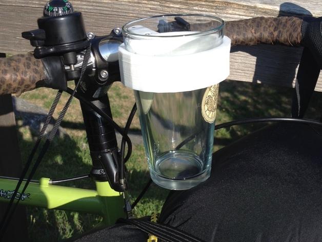 自行车把手 杯架