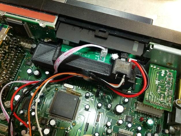 汽车收音机/盒式磁带  数字面板