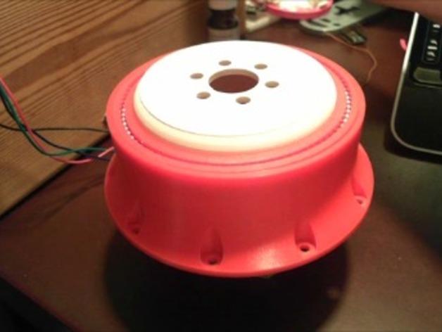 谐波驱动 3D打印模型渲染图