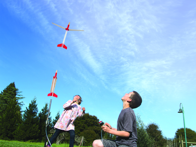 地对空火箭 滑翔机