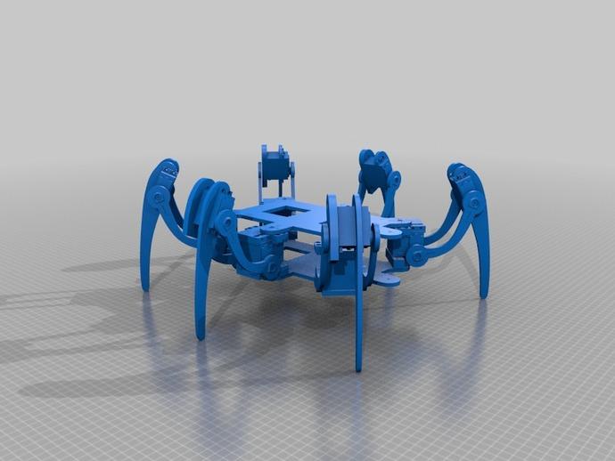 六足仿昆虫机器人