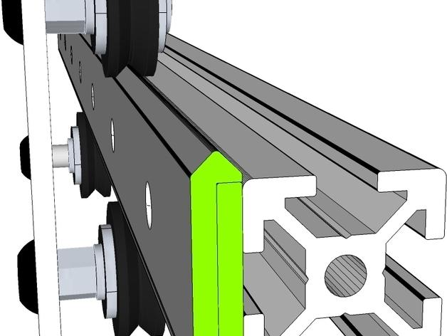 开源直线轴承系统
