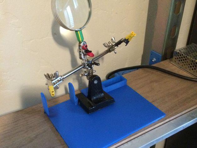 焊料底座 3D打印模型渲染图
