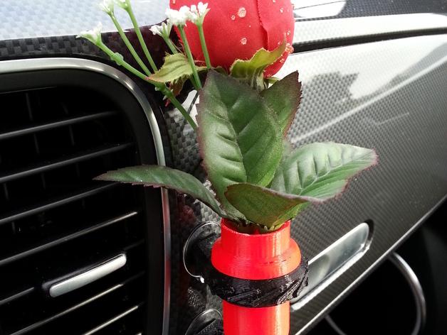 车载迷你花瓶