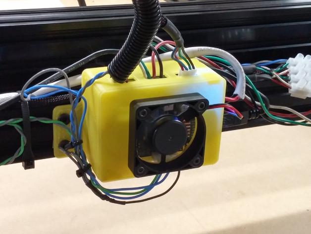 GRBL保护罩 3D打印模型渲染图