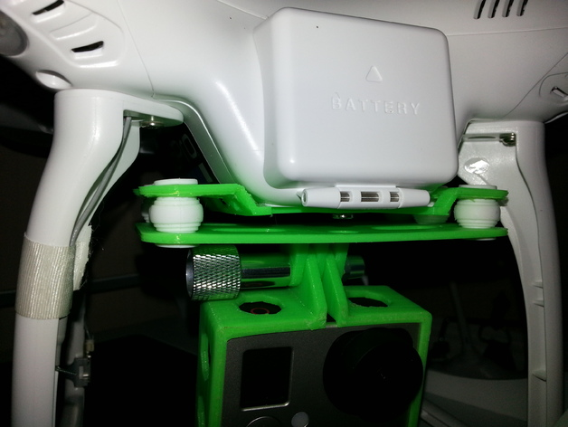 FC40摄像机防振底座 3D打印模型渲染图