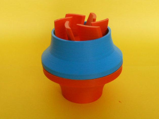 水泵/抽水机 3D打印模型渲染图