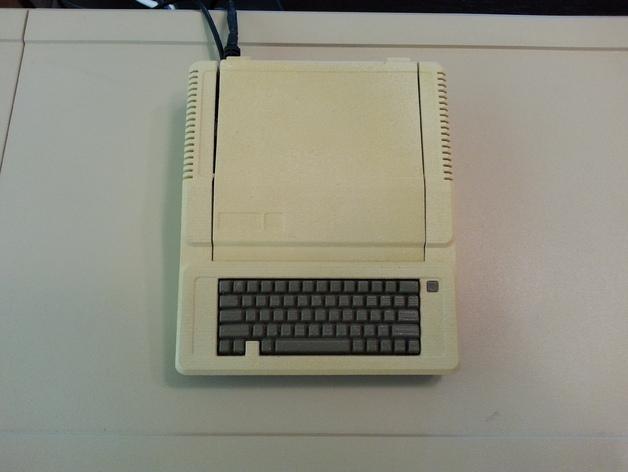 苹果二代电脑树莓派外壳