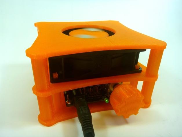 家用DIY搅拌器套件 保护套 3D打印模型渲染图