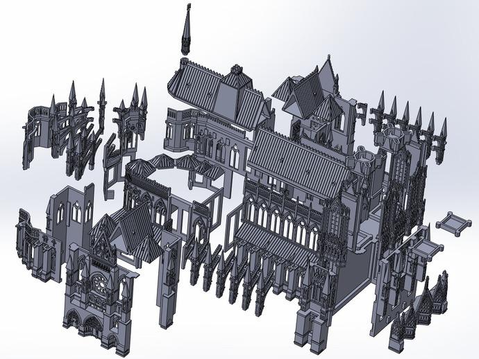 兰斯圣母院教堂