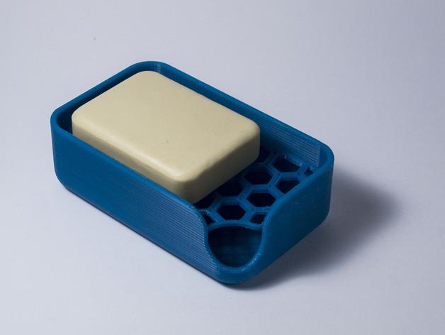 肥皂盒 3D打印模型渲染图