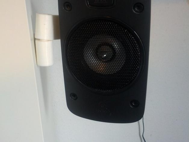 壁挂式扬声器固定夹