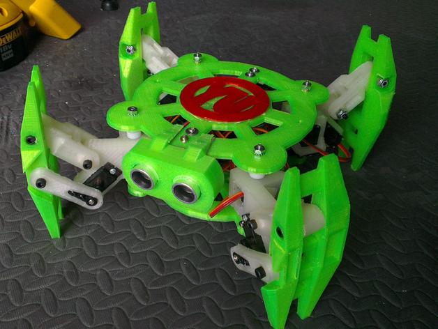 Turtlebot四足机器人 3D打印模型渲染图