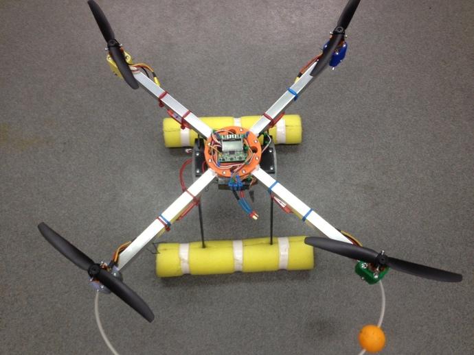 四轴飞行器支柱保护装置
