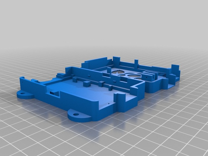 Super-Pi树莓派外壳  3D打印模型渲染图