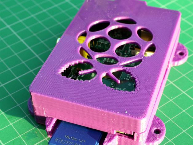 Super-Pi树莓派外壳