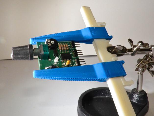 PCB虎钳夹 3D打印模型渲染图