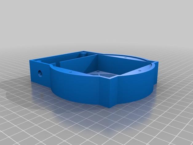 磁力搅拌盘 3D打印模型渲染图