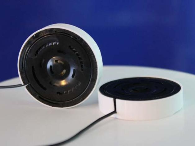 Tork GPro扬声器外壳 3D打印模型渲染图