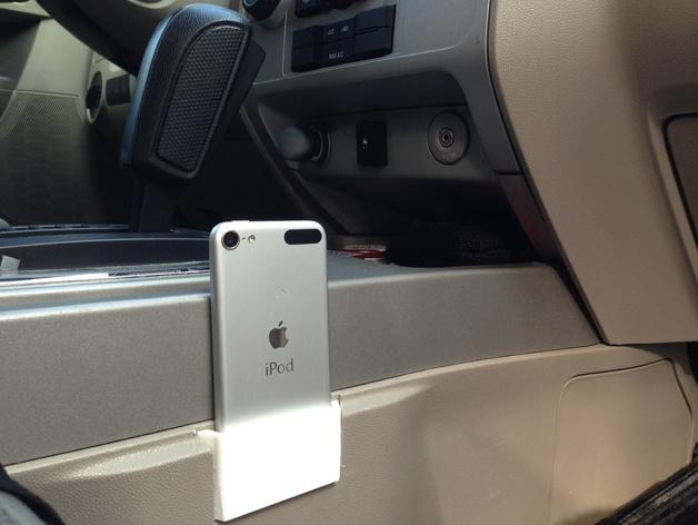 车载iPhone手机底座 3D打印模型渲染图