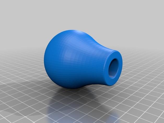 福特汽车排挡头 3D打印模型渲染图