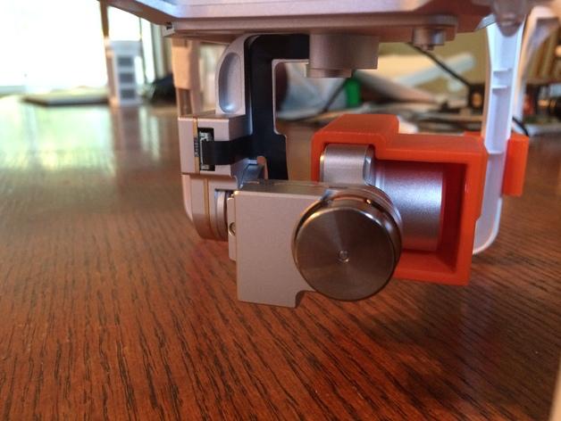 摄像机常平架锁定