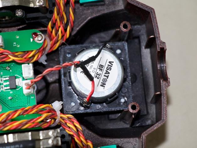 Taranis 的Visaton BF32扬声器适配器