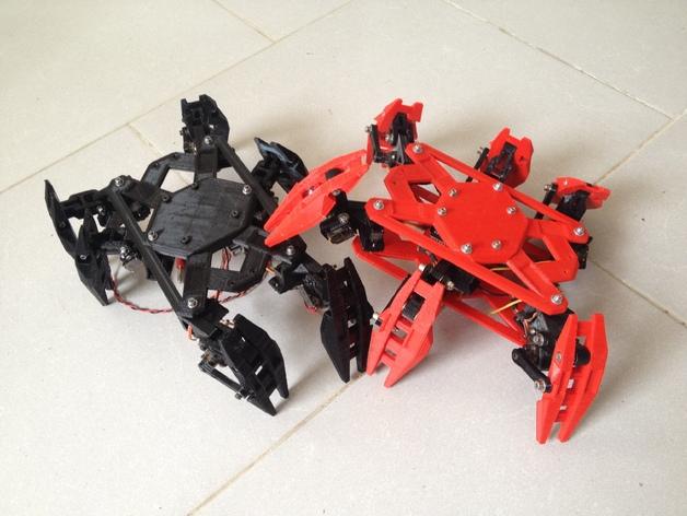 六轴飞行器 3D打印模型渲染图