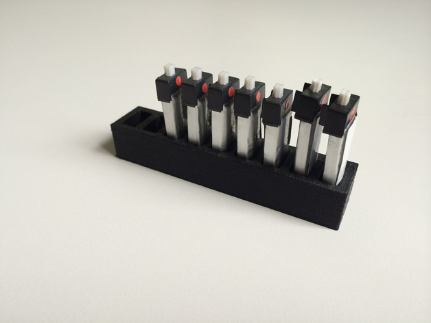 LiPo电池夹