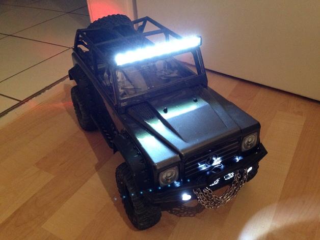 攀爬遥控车LED光条